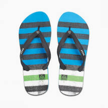 Reef Switchfoot Prints Blue/Green férfi papucs