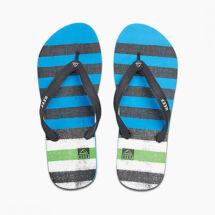 Reef Switchfoot Prints Blue/Green férfi papucs