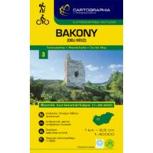 Bakony (déli rész) turistatérkép