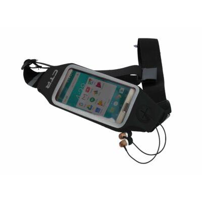 CTR LED-es futóöv telefontartóval