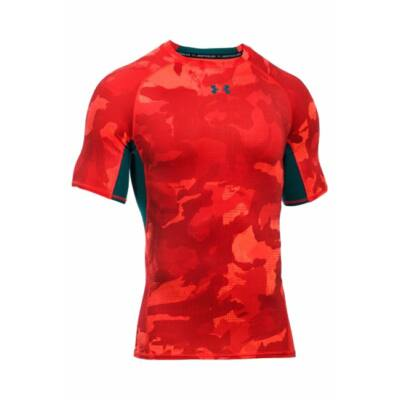 Under Armour HeatGear Printed Short Sleeve Compression Shirt