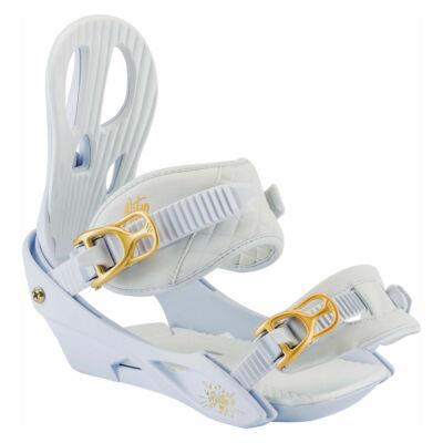 Nitro RYTHM WHITE GOLD snowboardkötés