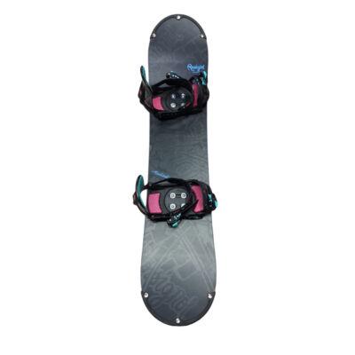 Rossignol Accelerator Snowboard deszka, kötéssel