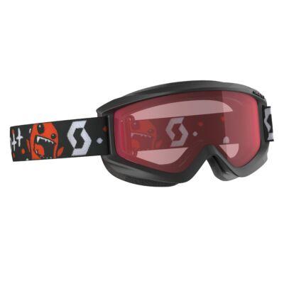 SCOTT Jr Agent Black/Red szemüveg