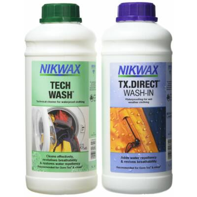 NIKWAX TWIN TECH WASH / TX.DIRECT WASH IN 1000 ML