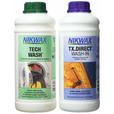 NIKWAX TWIN TECH WASH / TX.DIRECT WASH IN 1000 ML